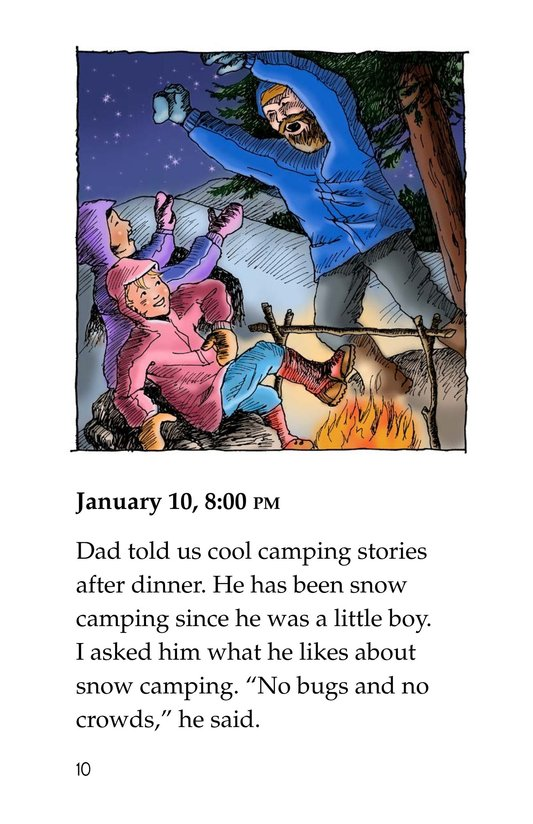 Book Preview For Snow Camping Page 10