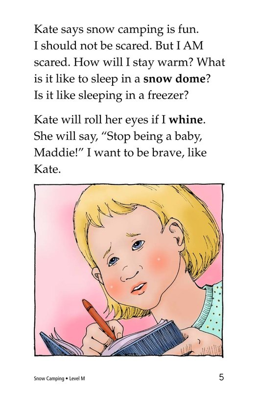 Book Preview For Snow Camping Page 5