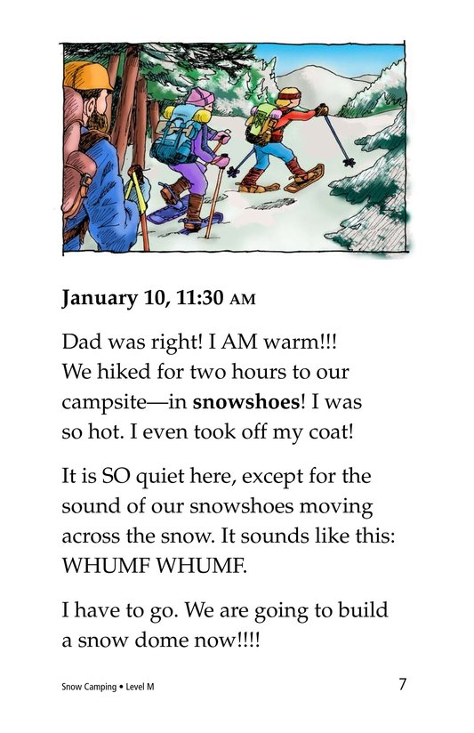 Book Preview For Snow Camping Page 7