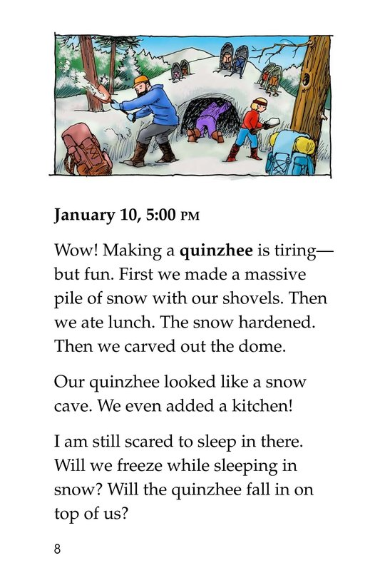 Book Preview For Snow Camping Page 8
