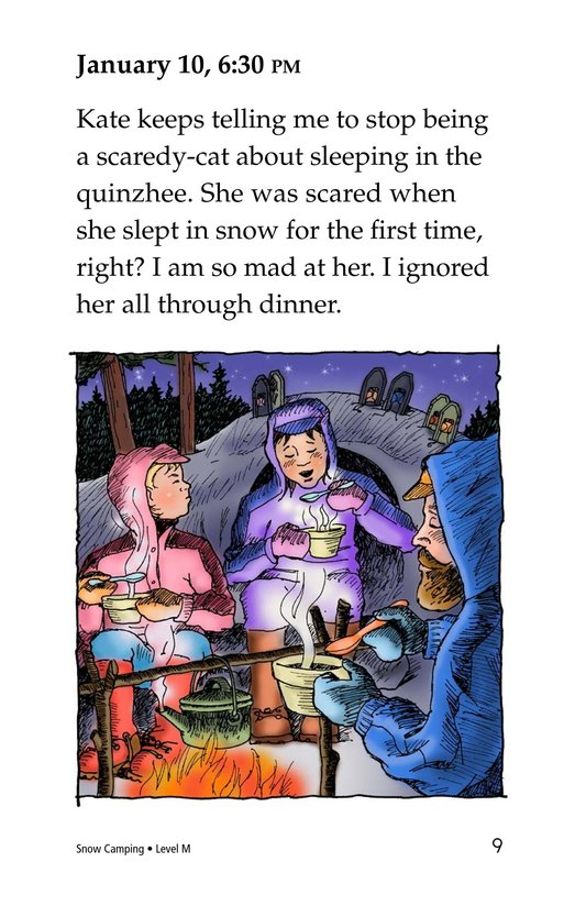 Book Preview For Snow Camping Page 9