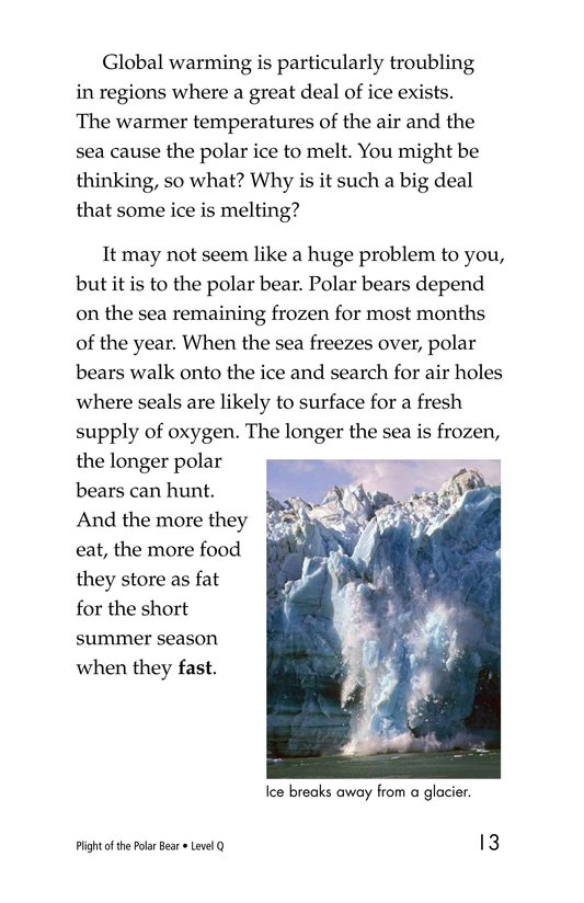 Book Preview For Plight of the Polar Bear Page 13
