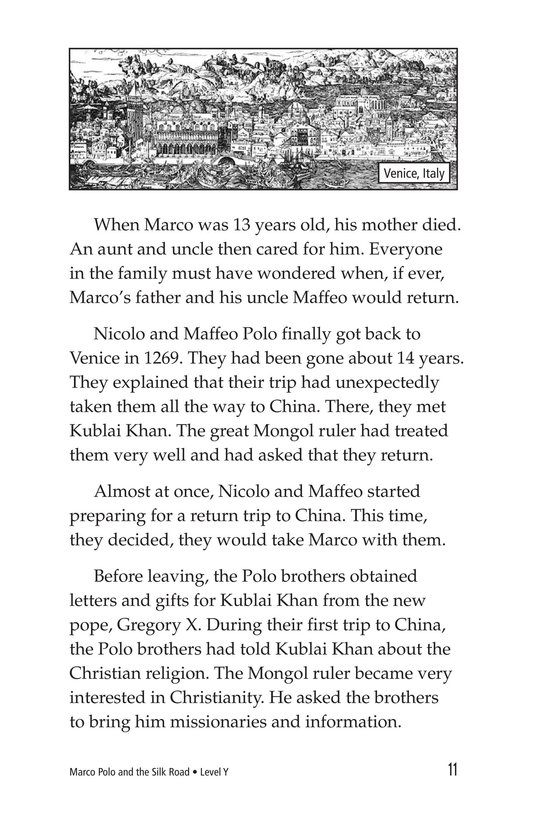 Book Preview For Marco Polo and the Silk Road Page 11