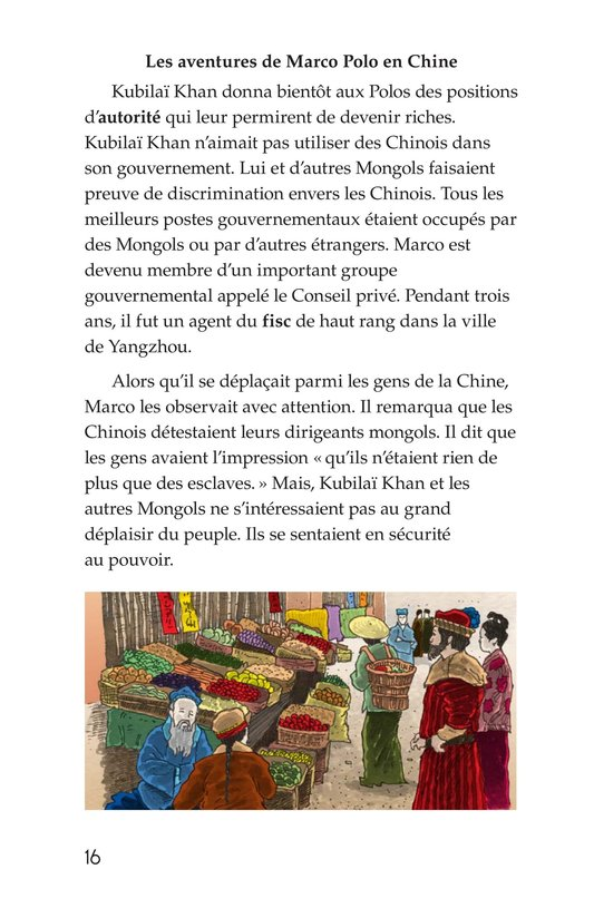 Book Preview For Marco Polo and the Silk Road Page 16