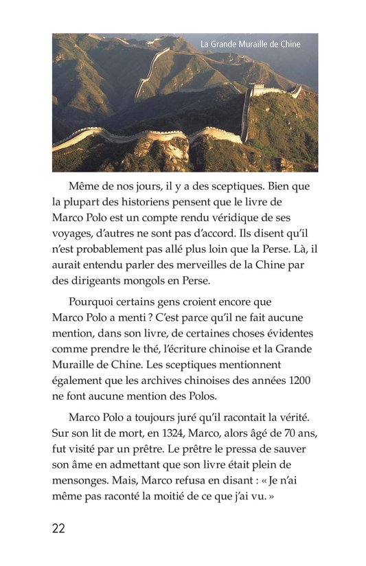 Book Preview For Marco Polo and the Silk Road Page 22