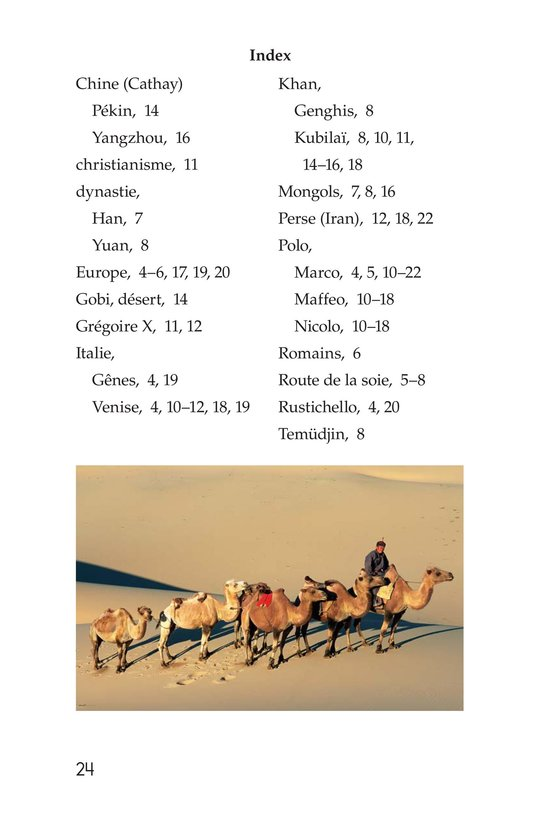 Book Preview For Marco Polo and the Silk Road Page 24