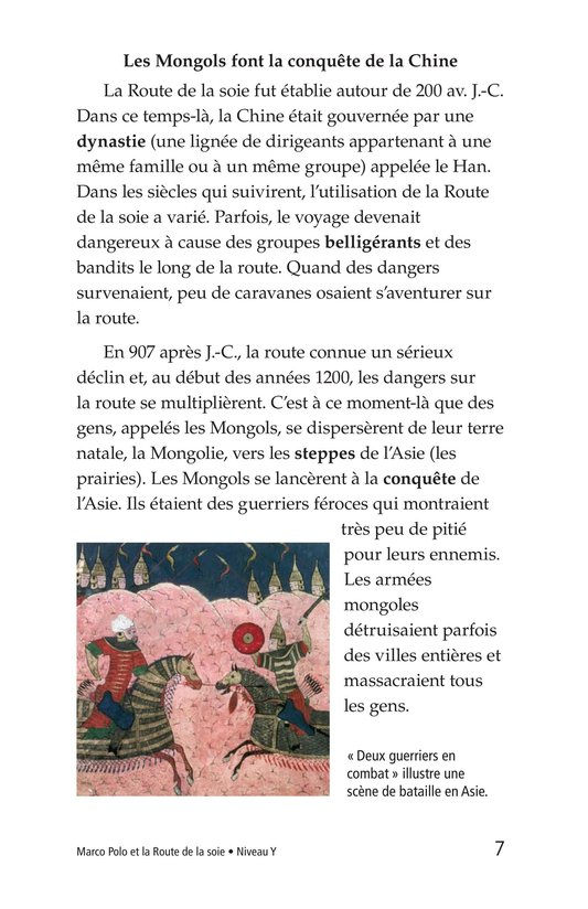 Book Preview For Marco Polo and the Silk Road Page 7