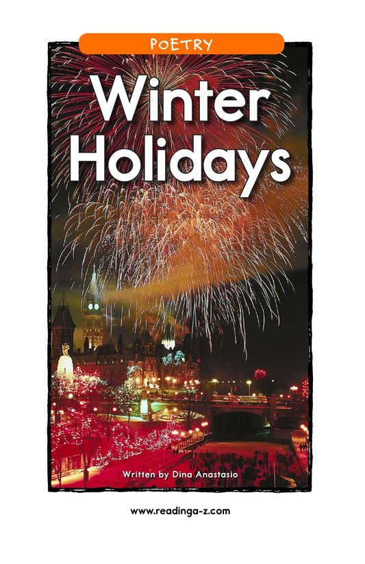 Book Preview For Winter Holidays Page 1